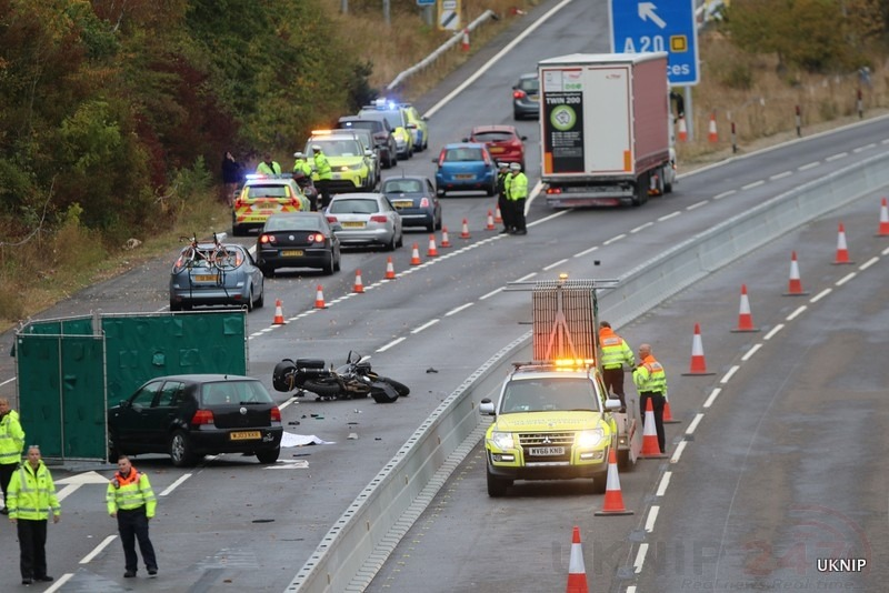 dashcam footage appeal following fatal m20 collision