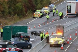m20 closed following fatal collision leaving hundreds trapped for hours 1