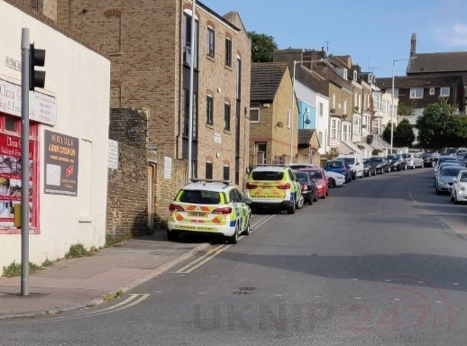 Two Arrests Were Made And Drugs Were Seized By Police In Ramsgate.