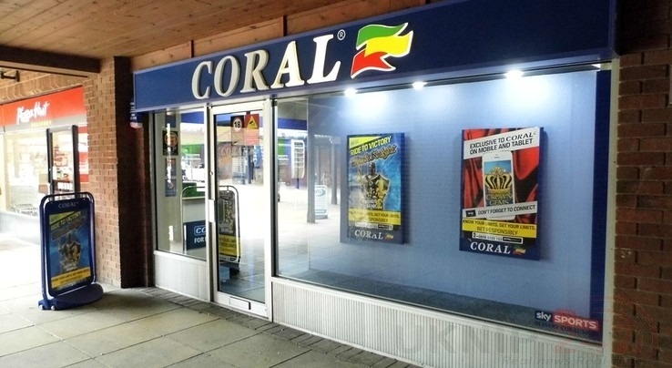 Coral Bookmakers In Locks Heath  Is Robbed