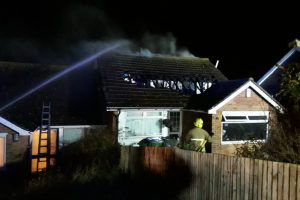 firefighter injured in newhaven house blaze