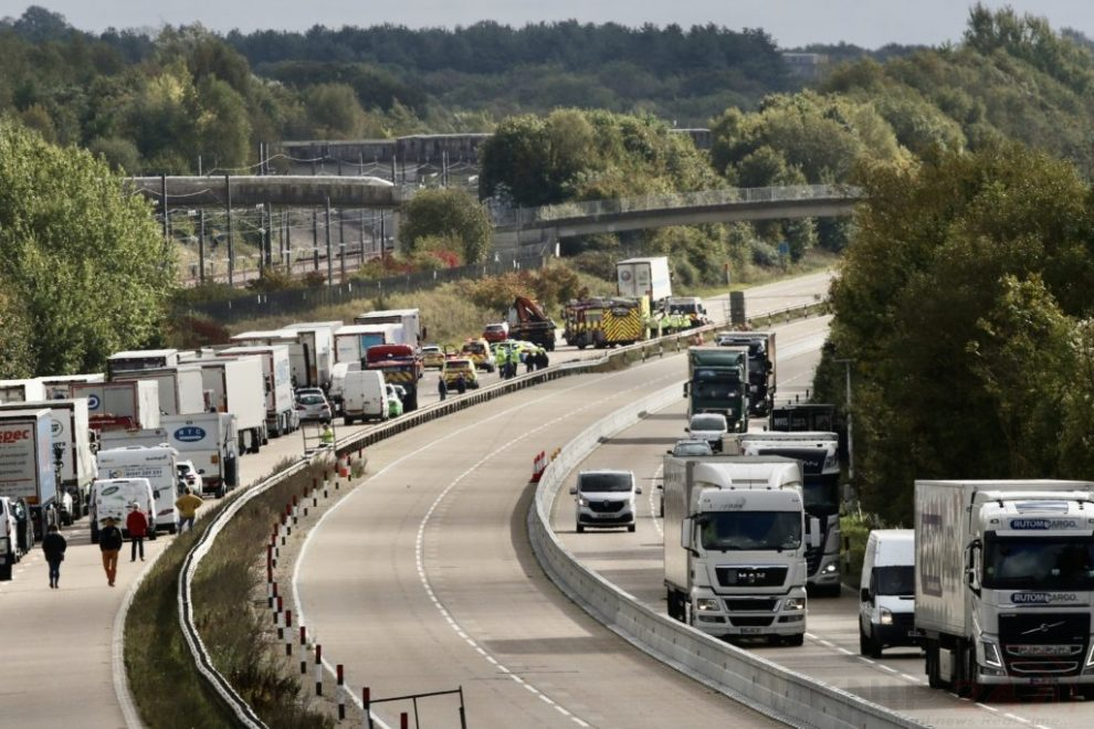 M20 Closed Following Serious Collision