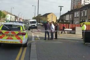 one arrested after man is stabbed in the leg in enfield