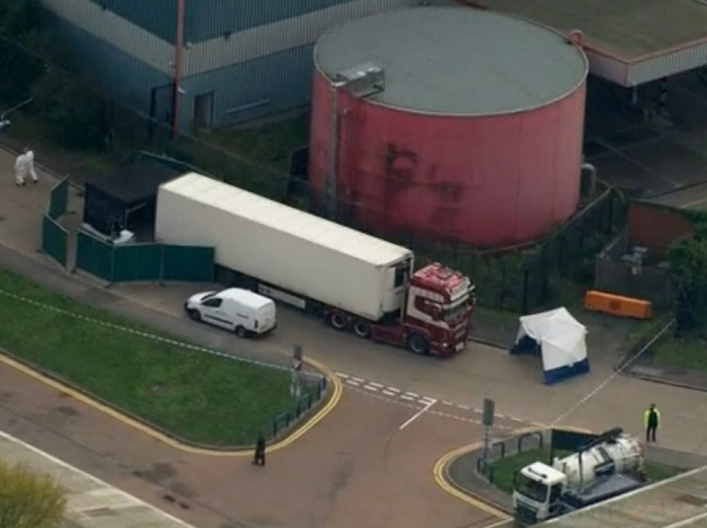 police release more information after 39 found dead in the rear of a refrigerated lorry