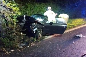 serious collision closes major isle of wight road 1