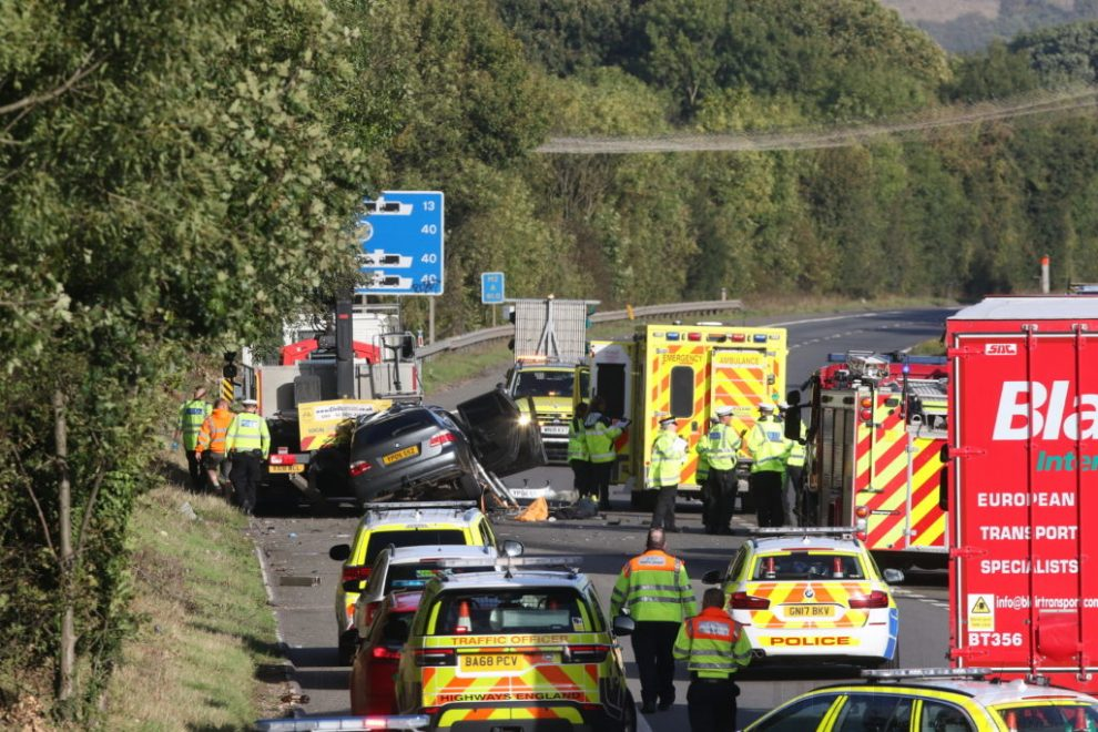 Witnesses Sought Following Fatal Collision On The M2 Near Medway