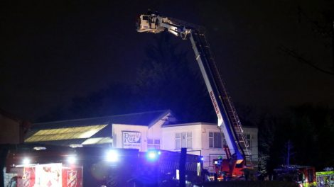 Sixty Firefighters Called To Tackle Warehouse Blaze In Southall
