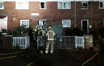 Fire Rips Through Two Peckham Properties