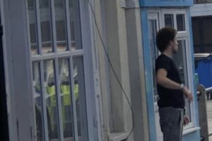 armed police detain man in sheerness