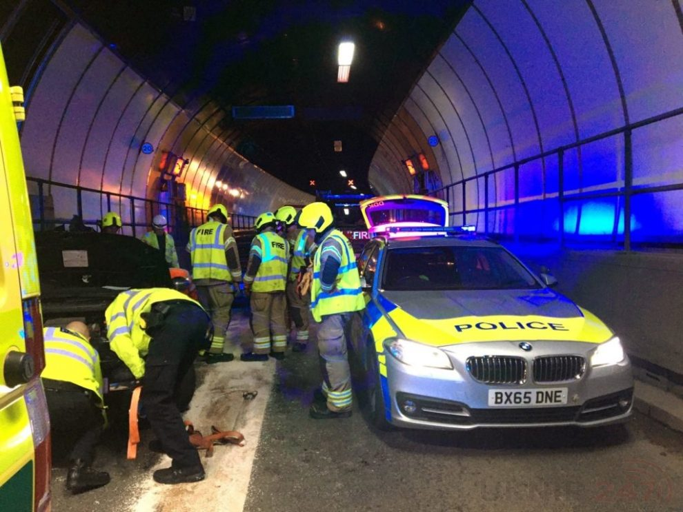 Blackwall Tunnel Closed  Following Serious Traffic Collision
