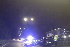 dramatic rush hour police shakedown on busy a2 near canterbury