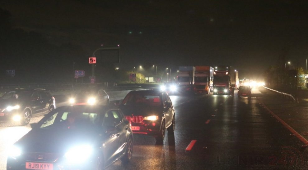 man died in m25 overnight fatal collision