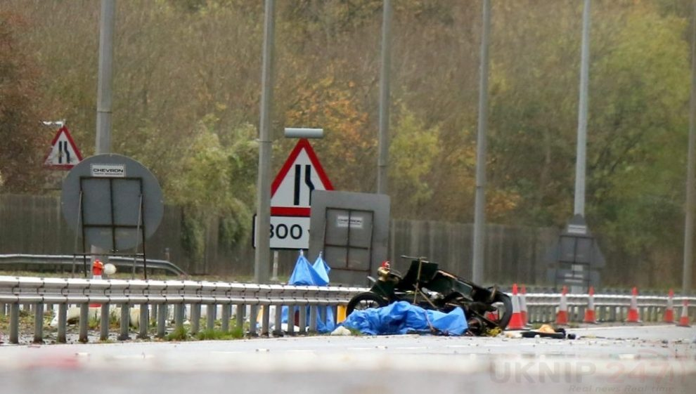 millionaire businessman named as driver killed on m23 after his vintage car is involved in a collision