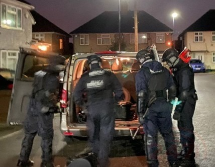 Ten Suspected Members Of An Organised Crime Group Have Been Arrested Today On Suspicion Of Flying An Estimated £15.5million Out Of The Uk
