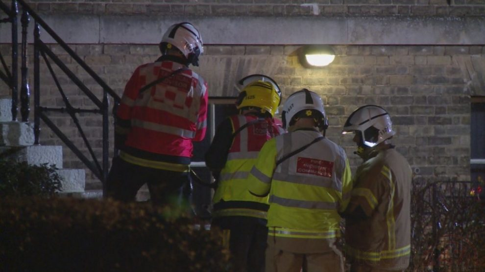 Fire Crews Called To Suspected  Explosion At A Gosport Flat