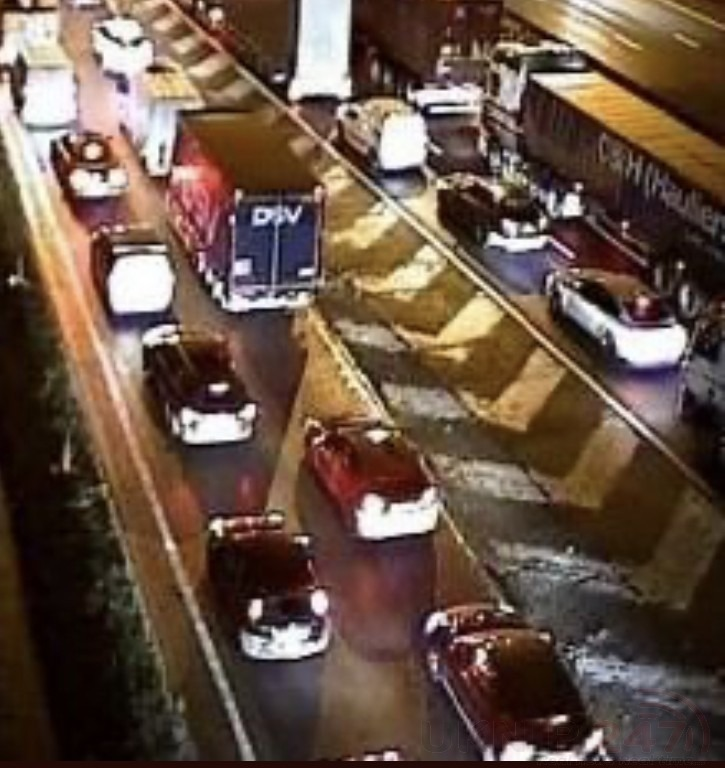 M25 Motorway In Kent Closed After Multi Vehicle Collision