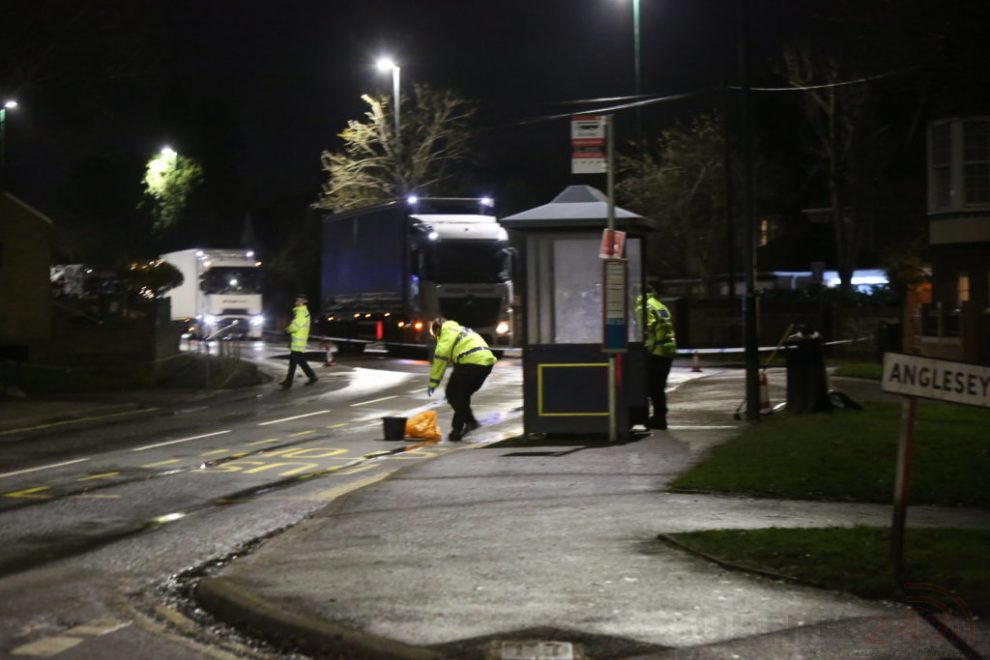 Major Maidstone Road Closed For Collision Investigation After Man Is Struck By A Bus