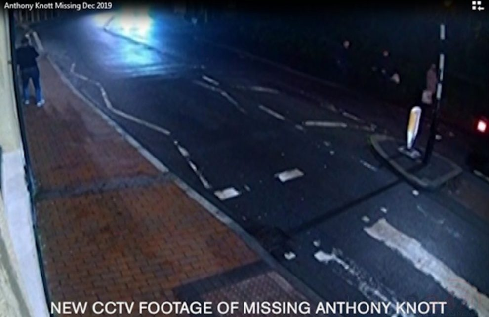 New Cctv Footage Believed To Be That Of Missing London Firefighter Anthony Knott Has Been Released By Police