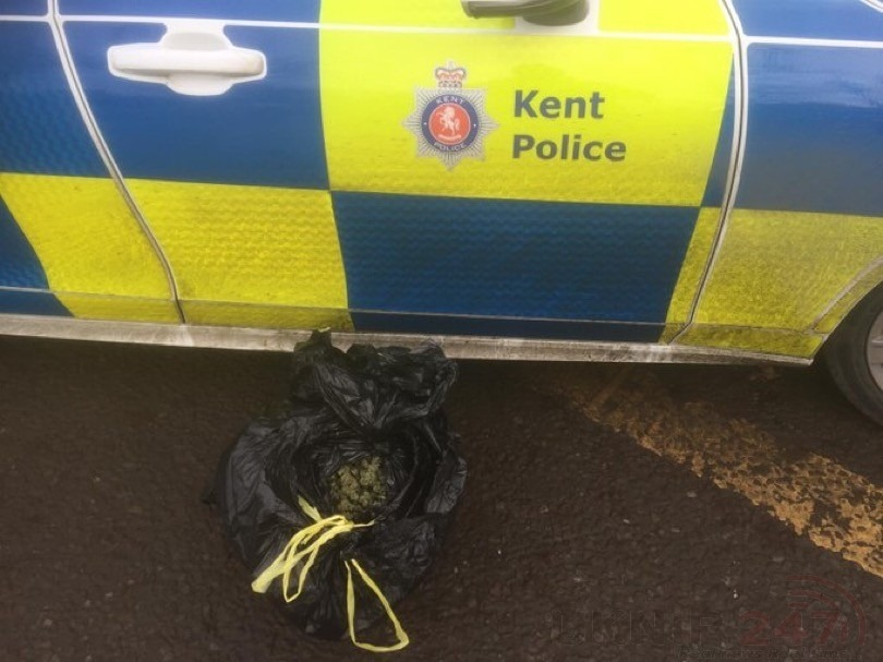 Kent Police Offer Owner Of £30k Of Drugs Free Overnight Accommodation