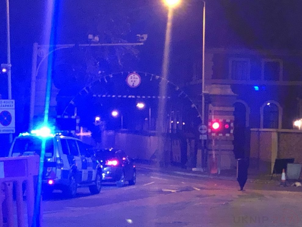 Man fighting for his life after Rotherhithe tunnel Head on Crash, UKNIP