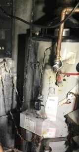 Hoses Used To Extinguished  Boiler Room Fire In Tunbridge Wells