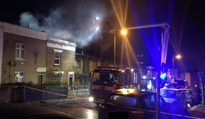 Man taken to hospital whilst sixty firefighters tackle house blaze, UKNIP