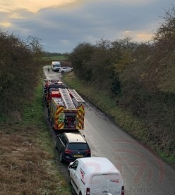 North Yorkshire Fire Crews Called To Incident On East Coast Mainlin