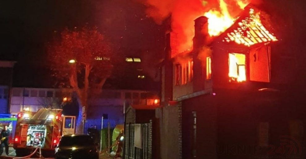 Blaze Rips Through North-west London Property