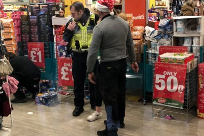 Canterbury Poundland In Lockdown After Thieving Feral  Yobs Smash Up Shop