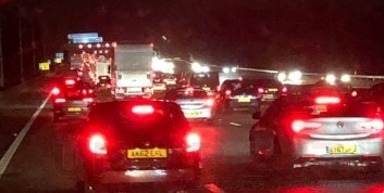 M25 Kent  Long Delays After Earlier Collision