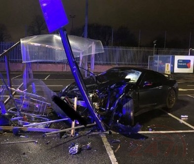 Is It Worth It ? Driver Arrested After Drunken Car Park Crash In North London