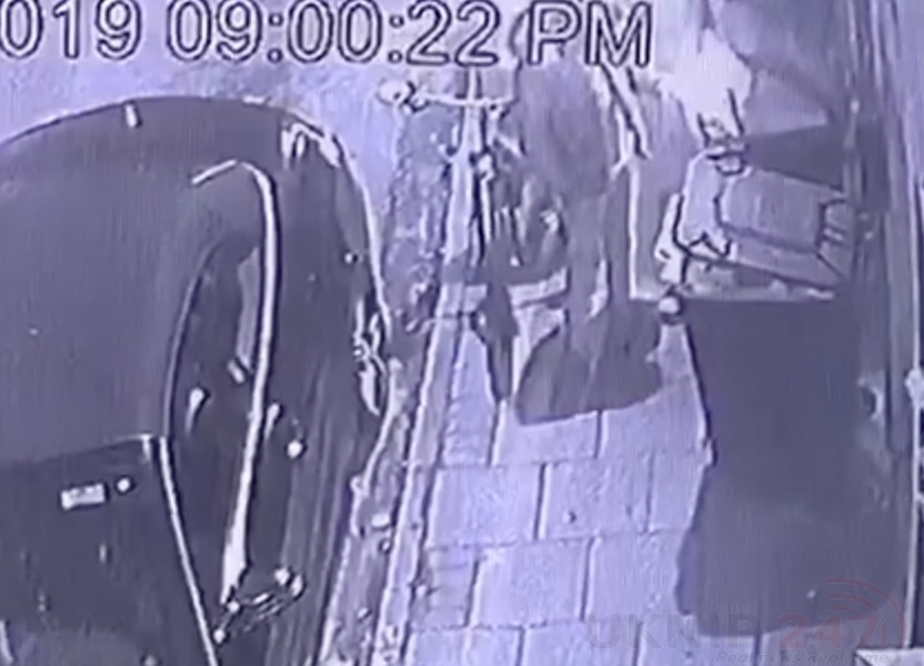 Cctv Catches Feral Children Setting Light To Dustbin In Dartford With Aerosol Cans