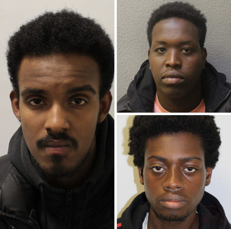 Three Men Found Guilty Of Gang Rape Robbery And Kidnapping A Teenager