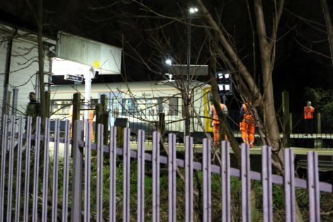 Emergency Crews Called To Person Trapped Under A Train At Eden Park Near Bromely