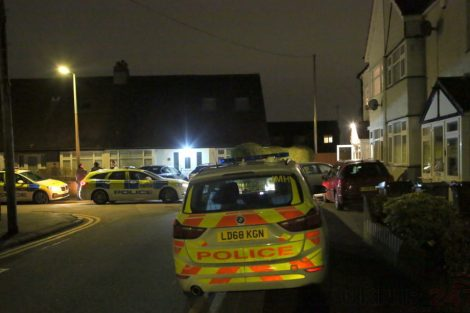 Residents' Shock As Armed Police Descend On Street And Surround House