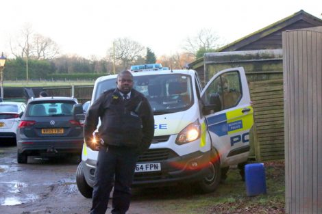 Major Raid Carried Out By The Met Police In Sleepy Village Of  Biggin Hill