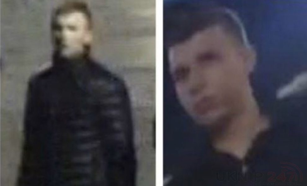Police In Kent Want To Speak To These Two Men Following A Disturbance In Dartford