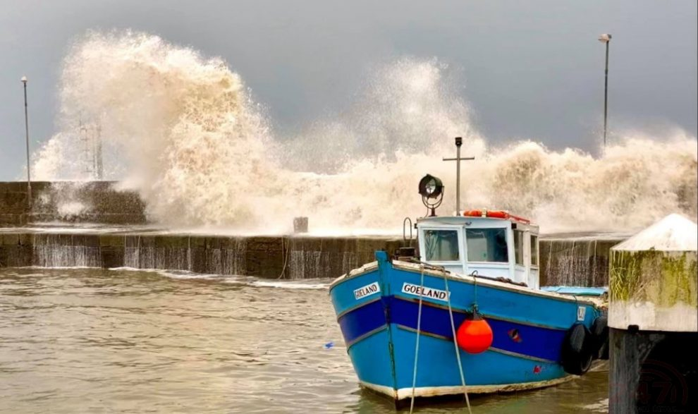 A Storm Warning  Has Been Issued For Parts Of Kent