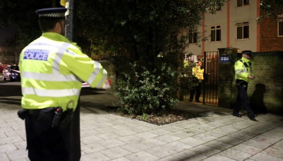 Police Seal Off Terror Suspects Property In Streatham