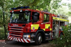 Fire Crews Tackle Blaze That Spread To Property In Canterbury After Dog Raises Alarm