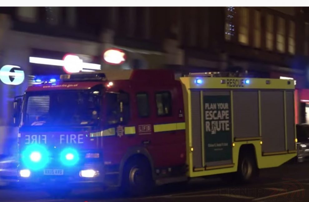 Emergency services called to child under a train at Liverpool street underground Station, UKNIP