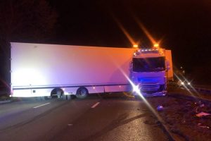 A1 Barnet Bypass Southbound Likely To Remain Closed  For Several Hours Due To A Jackknifed Hgv