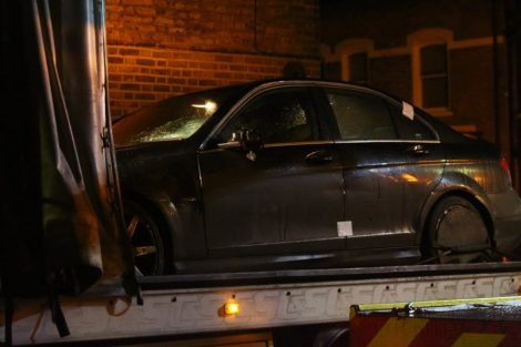Police recover Mercedes used in the fatal hit and run Brixton Collision, UKNIP
