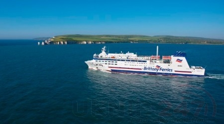 Brittany Ferries has suspended passenger services between #Poole and Cherbourg