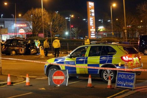 80 Year Old Pensioner Dies In London Taxi  Horror Crash In North London