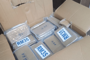 five people have been arrested and cocaine worth more than 2 million has been seized