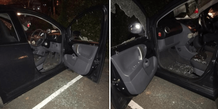 scumbag attack nhs workers car after 12 hour shift saving lives