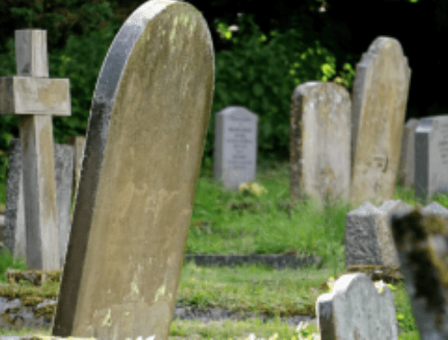 visiting cemeteries in the city during the pandemic