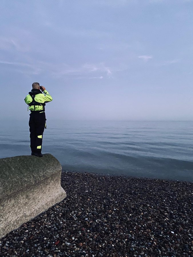 PERSON FIGHTING FOR THEIR LIFE AFTER DRAMATIC RESCUE FROM BRIGHTON BEACH