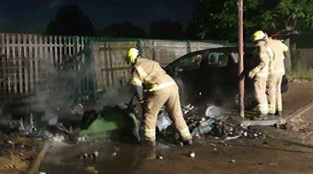 Detectives are seeking information following a series of arsons in the Swanley area, UKNIP